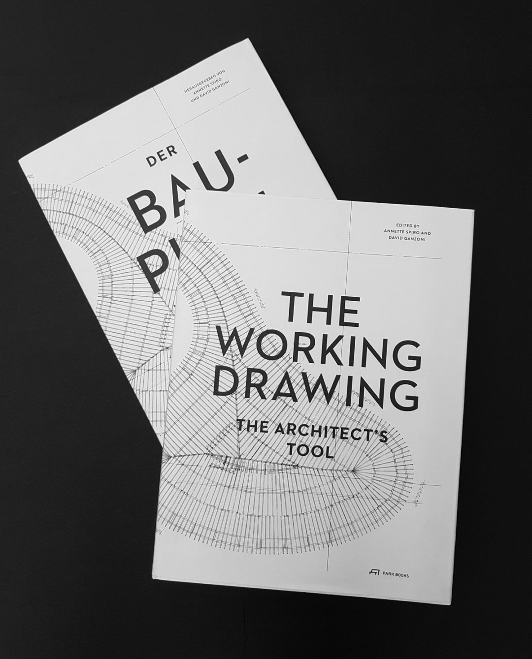 Der Bauplan.  Das Werkzeug des Architekten / The Working Drawing. The Architect's Tool
